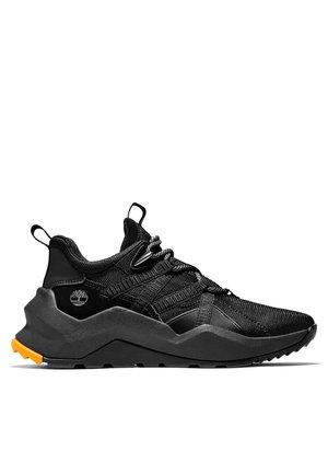 Sportlicher Schnürer - black mesh w black