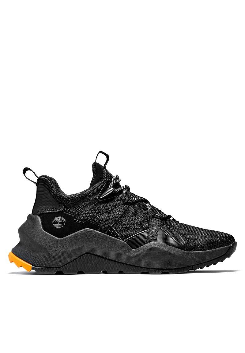 Timberland - Sportlicher Schnürer - black mesh w black