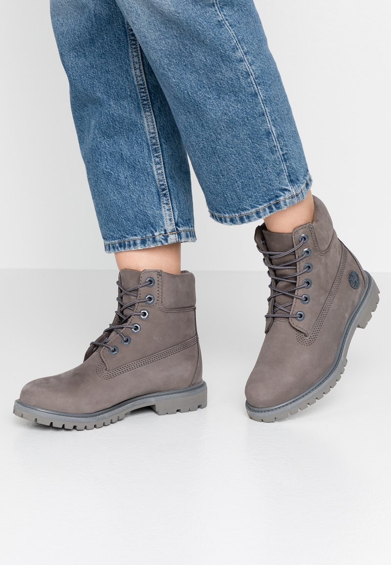 Timberland - PREMIUM BOOT  - Lace-up ankle boots - medium grey