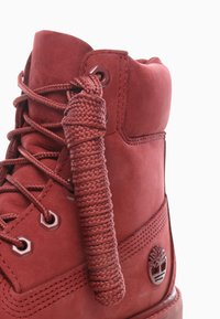 Timberland - PREMIUM BOOT  - Lace-up ankle boots - red - 5