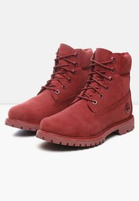 Timberland - PREMIUM BOOT  - Lace-up ankle boots - red - 2