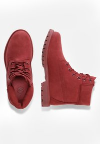 Timberland - PREMIUM BOOT  - Lace-up ankle boots - red - 1