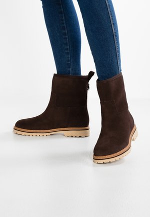 CHAMONIX VALLEWINTER  - Classic ankle boots - chocolate brown