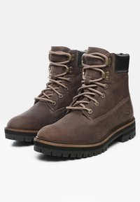 Timberland - LONDON SQUARE 6IN BOOT - Schnürstiefelette - taupe brown - 2