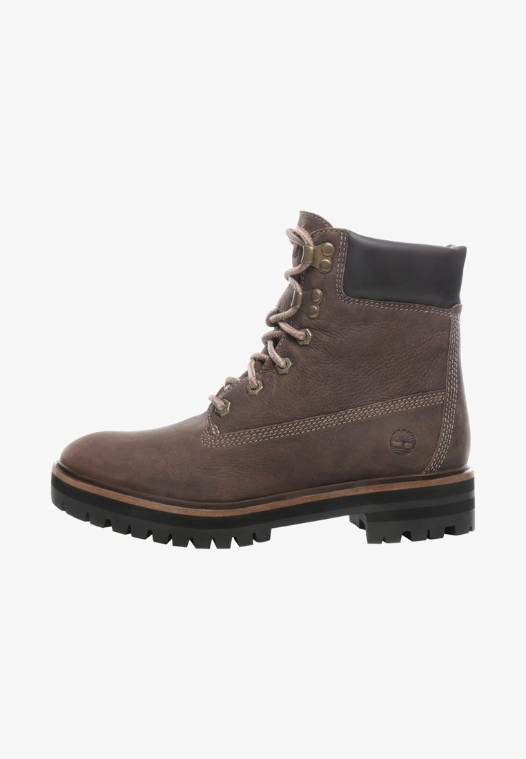 Timberland - LONDON SQUARE 6IN BOOT - Schnürstiefelette - taupe brown