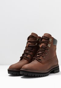 Timberland - LONDON SQUARE 6IN BOOT - Schnürstiefelette - mid brown - 4