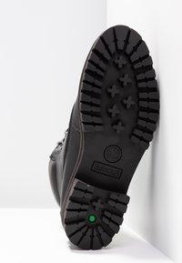 Timberland - LONDON SQUARE 6IN BOOT - Šněrovací kotníkové boty - jet black mincio - 6