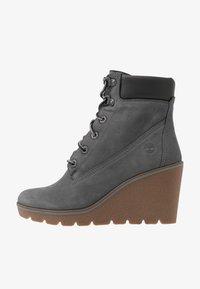 Timberland - PARIS HEIGHT  - High heeled ankle boots - medium grey - 1