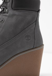 Timberland - PARIS HEIGHT  - High heeled ankle boots - medium grey - 2