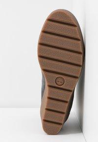 Timberland - PARIS HEIGHT  - High heeled ankle boots - medium grey - 6