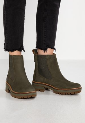 COURMAYEUR VALLEY CHELSEA - Stiefelette - olive night