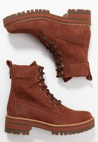 Timberland - COURMAYEUR VALLEY BOOT - Schnürstiefelette - rust - 3