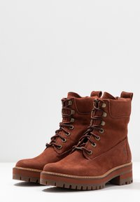 Timberland - COURMAYEUR VALLEY BOOT - Schnürstiefelette - rust - 4