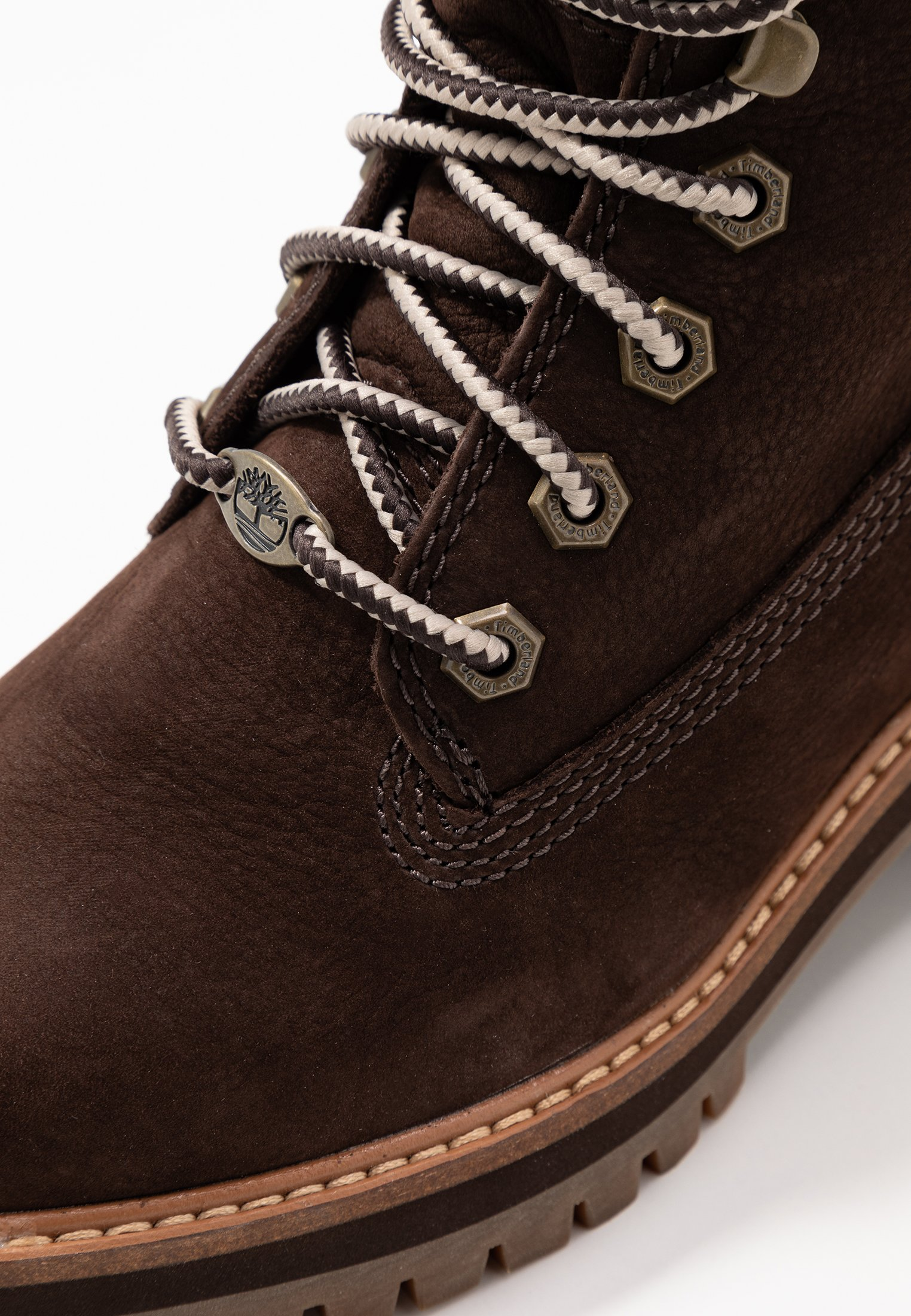 Timberland COURMAYEUR VALLEY BOOT - Bottines à lacets rust