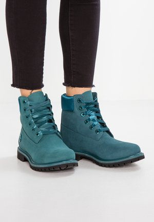 BOOT  - Lace-up ankle boots - dark teal