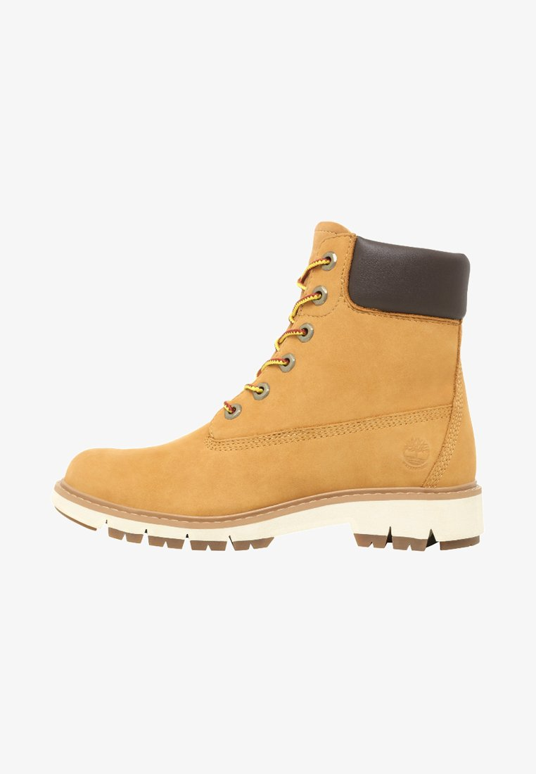 Timberland - LUCIA WAY 6IN WP BOOT - Schnürstiefelette - wheat