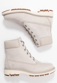 Timberland - LUCIA WAY 6IN WP BOOT - Schnürstiefelette - light taupe - 3