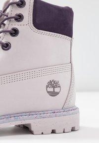 Timberland - 6IN PREMIUM BOOT - Schnürstiefelette - light purple - 2