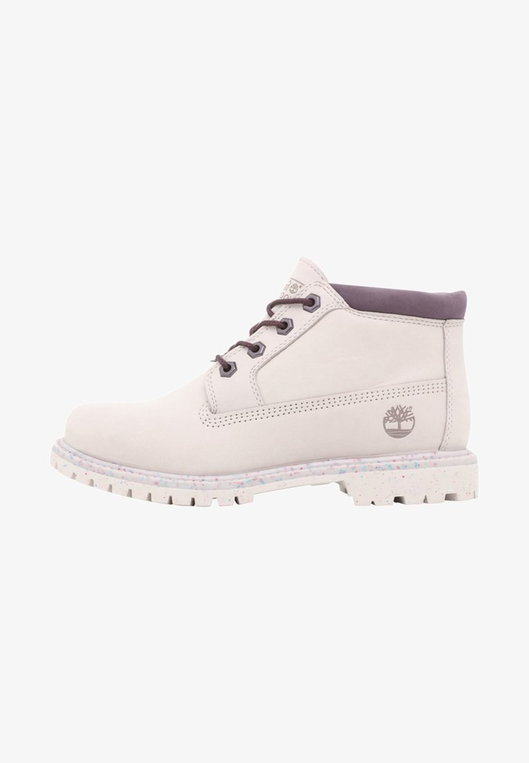 Timberland - NELLIE CHUKKA DOUBLE - Boots à talons - offwhite
