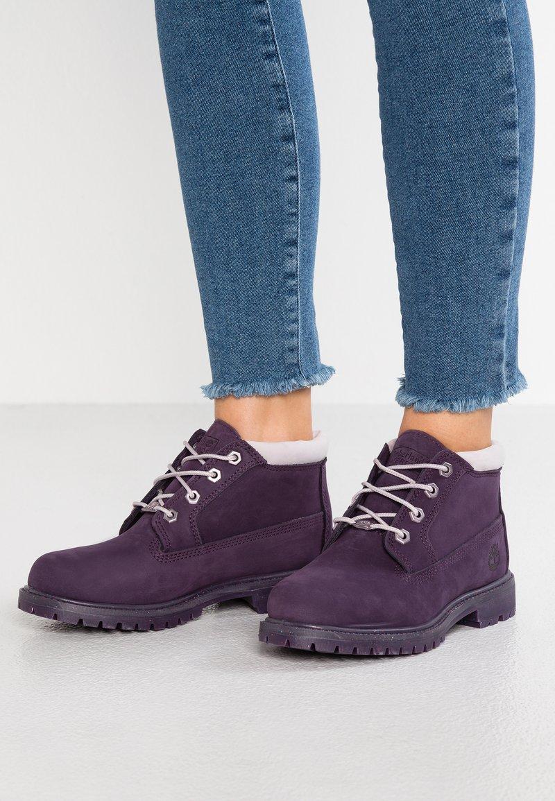 Timberland - NELLIE CHUKKA DOUBLE - Ankle Boot - dark purple