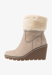 Timberland - PARIS HEIGHT - Bottines à talons hauts - taupe - 1
