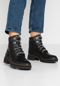 Timberland - LONDON SQUARE 6IN BOOT - Schnürstiefelette - black - 0