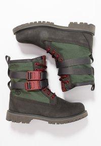 Timberland - AUTHENTICS BUCKL - Snørestøvletter - dark green - 3