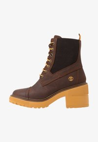 Timberland - BLOSSOM MID BOOTIE - Lace-up ankle boots - brown - 1