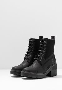 Timberland - BLOSSOM MID BOOTIE - Lace-up ankle boots - black - 4