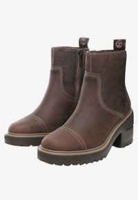 Timberland - BLOSSOM SIDE ZIP - Plateaustiefelette - taupe brown - 2