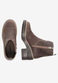 Timberland - BLOSSOM SIDE ZIP - Plateaustiefelette - taupe brown - 1