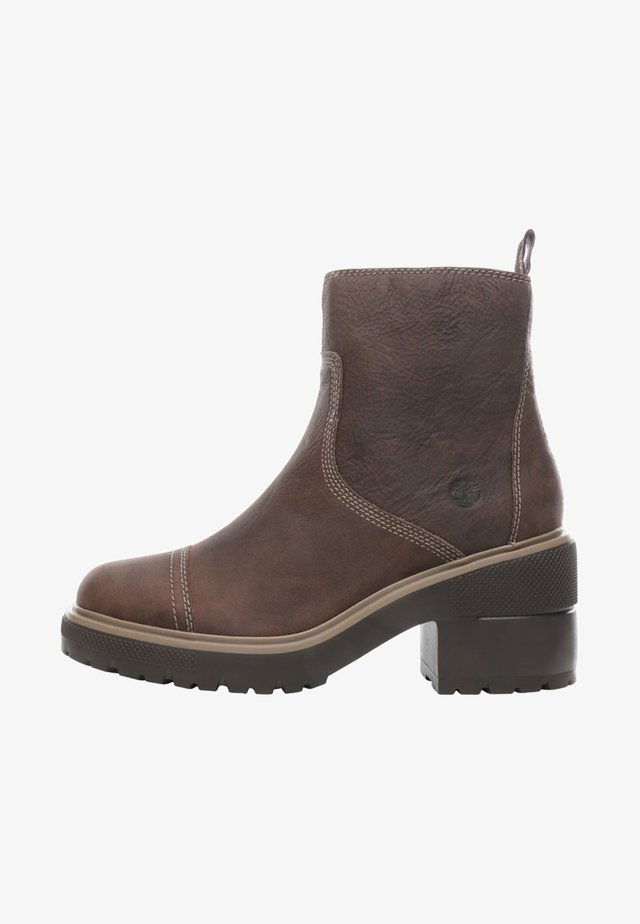 BLOSSOM SIDE ZIP - Bottines à plateau - taupe brown
