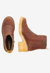 Timberland - BLOSSOM SIDE ZIP - Plateaustiefelette - brown - 1
