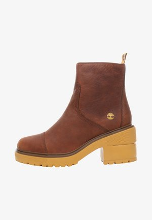 BLOSSOM SIDE ZIP - Plateaustiefelette - brown
