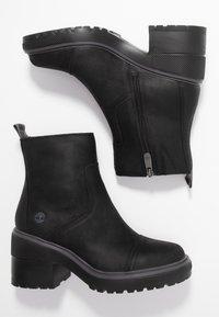 Timberland - BLOSSOM SIDE ZIP - Platform ankle boots - black - 3