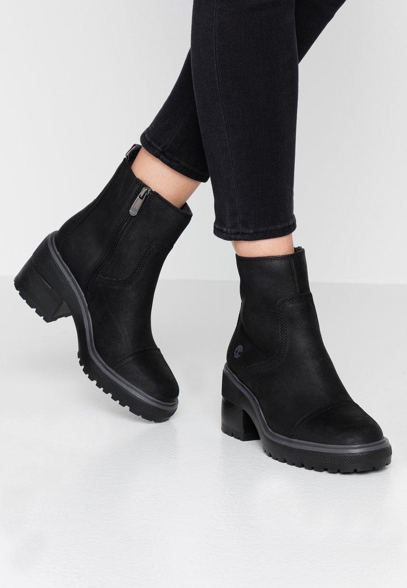 Timberland - BLOSSOM SIDE ZIP - Platform ankle boots - black