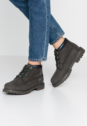 NELLIE CHUKKA DOUBLE - Lace-up ankle boots - dark green