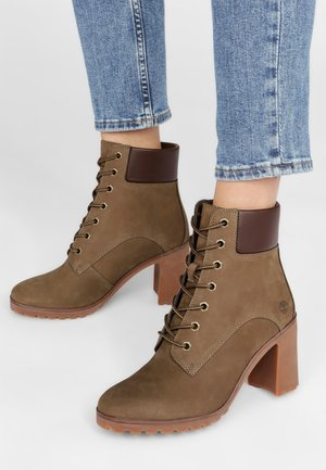 ALLINGTON 6IN LACE UP - Schnürstiefelette - taupe