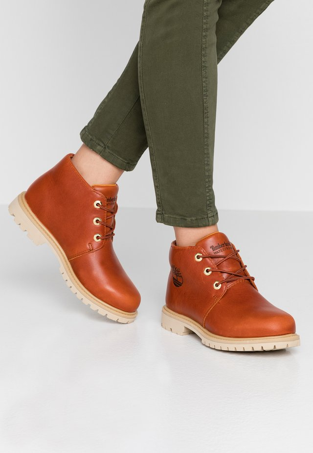 PANINARA CHUKKA WP - Ankle Boot - rust