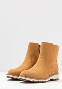 Timberland - LUCIA WAY LOW BOOTIE - Stiefelette - wheat - 4