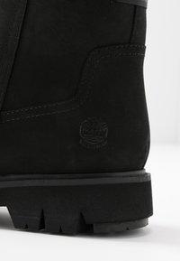 Timberland - LUCIA WAY LOW BOOTIE - Støvletter - black - 2