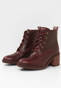 Timberland - SIENNA - Lace-up ankle boots - purple - 3