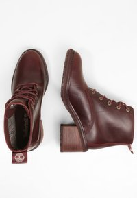 Timberland - SIENNA - Lace-up ankle boots - purple - 2