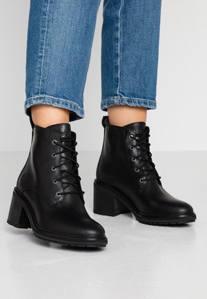 SIENNA - Lace-up ankle boots - black