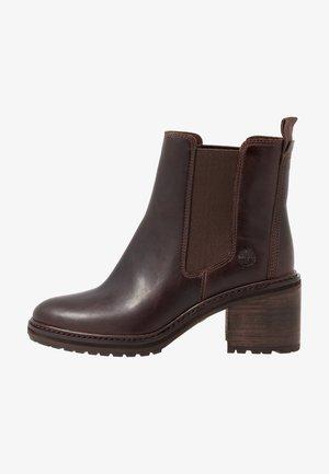SIENNA HIGH CHELSEA - Kotníkové boty - dark brown