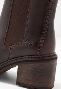 Timberland - SIENNA HIGH CHELSEA - Stiefelette - dark brown - 2