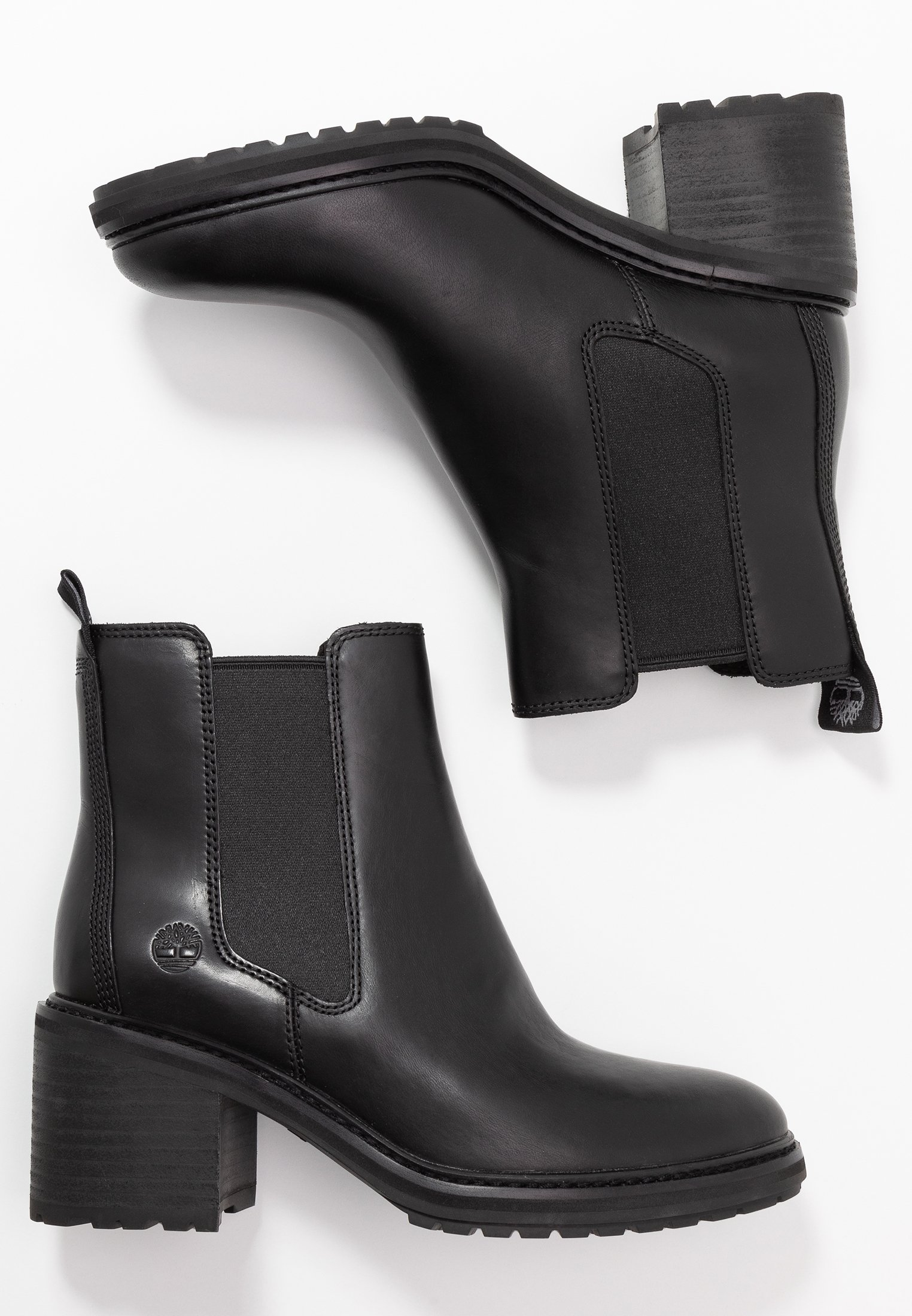 SIENNA HIGH CHELSEA Bottines black