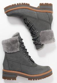 Timberland - COURMAYEUR VALLEY - Snowboot/Winterstiefel - medium grey - 3