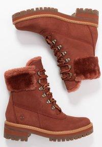 Timberland - COURMAYEUR VALLEY - Snowboot/Winterstiefel - rust - 3