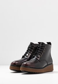 Timberland - BELL LANE LACE UP - Ankle Boot - dark red - 4